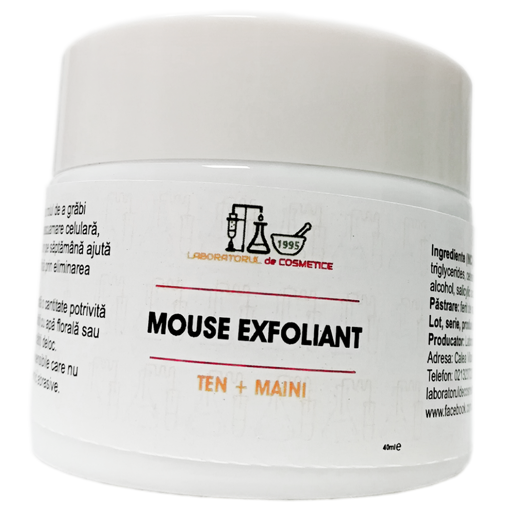MOUSE EXFOLIANT TEN si MAINI 40g