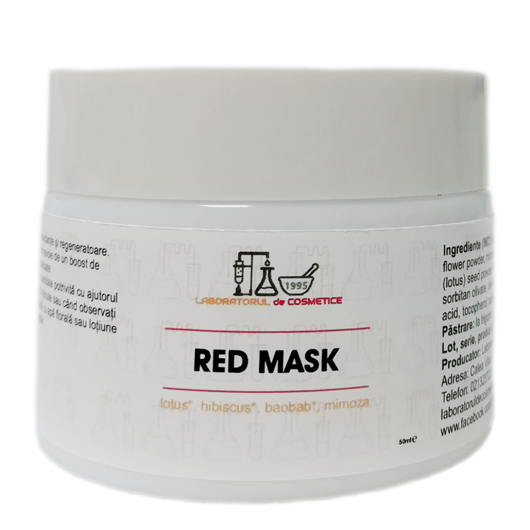 RED MASK- boost de antioxidanti si vitamine 50g