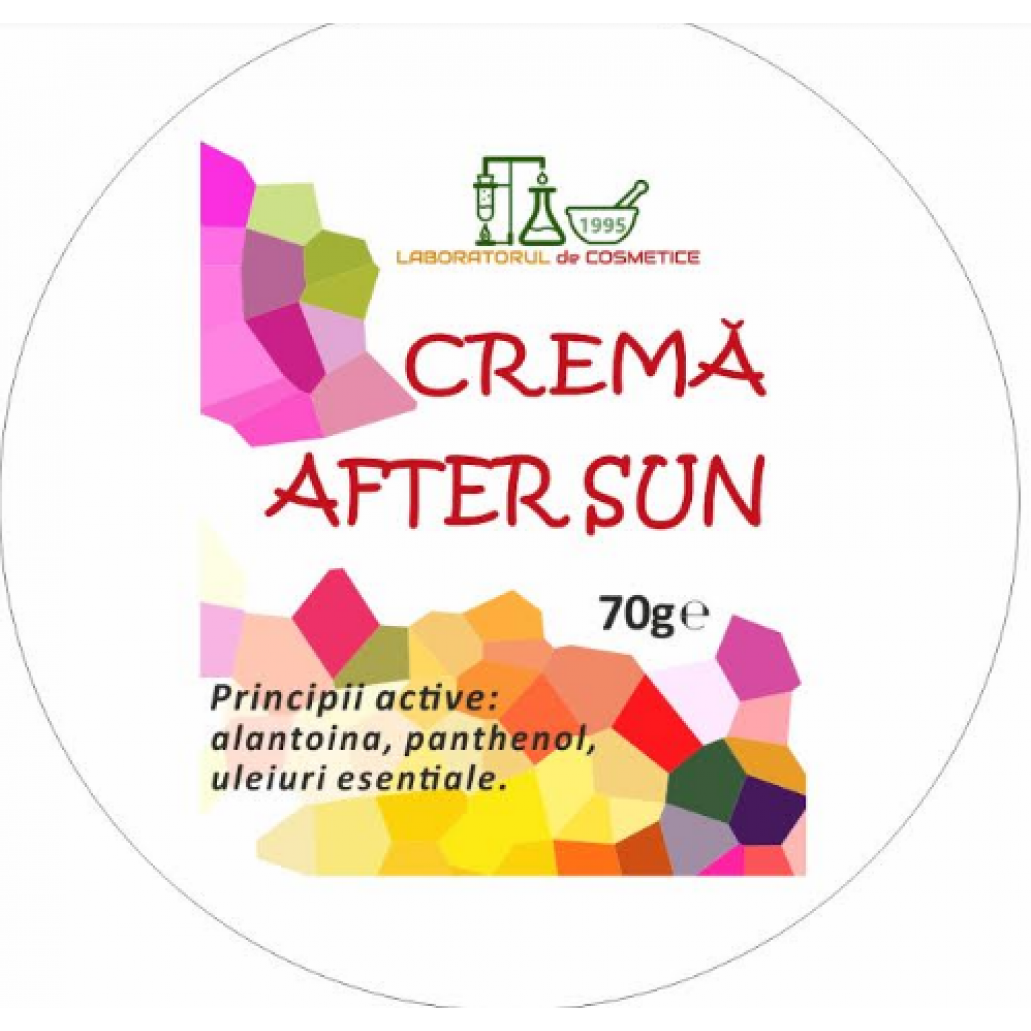 CREMA naturala AFTER SUN 70g